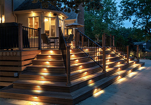 Outdoor lighting double a lawnscaping supply outside lighting aloadofball Gallery