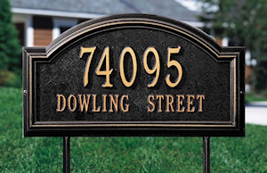Address Signs & Engraving